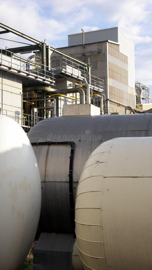 煤气罐 库存照片