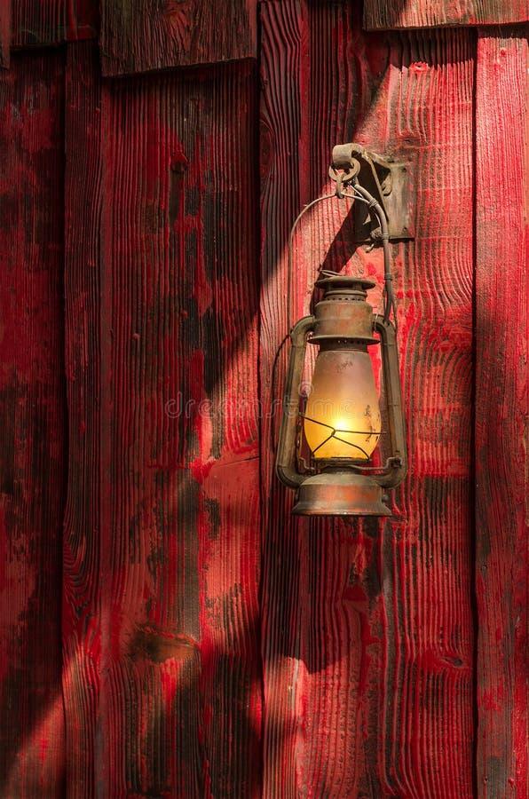 煤油提灯 免版税库存照片