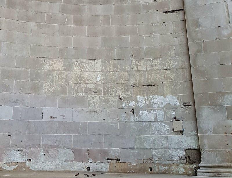 煤渣砌块墙壁 免版税库存图片