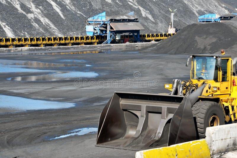 煤炭工业 免版税库存图片