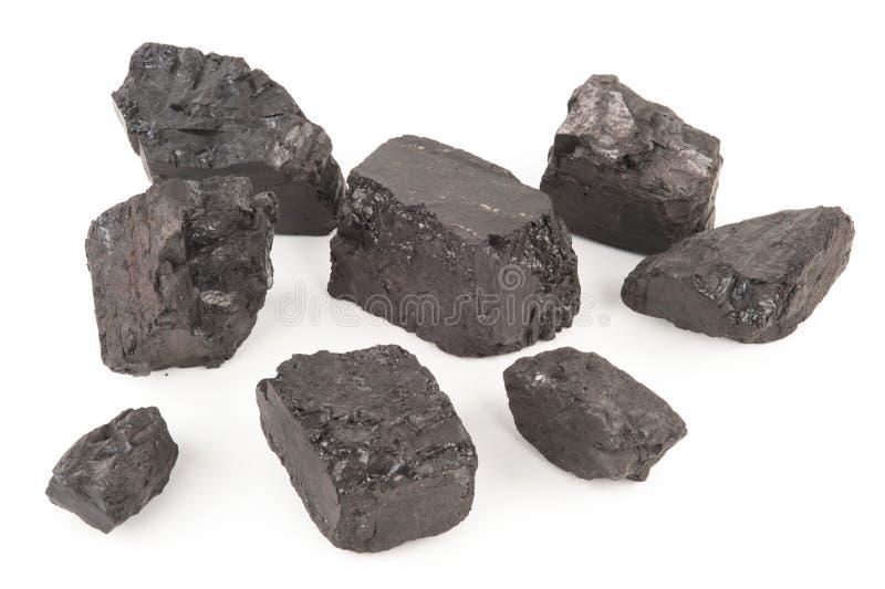 煤炭片断 免版税库存图片