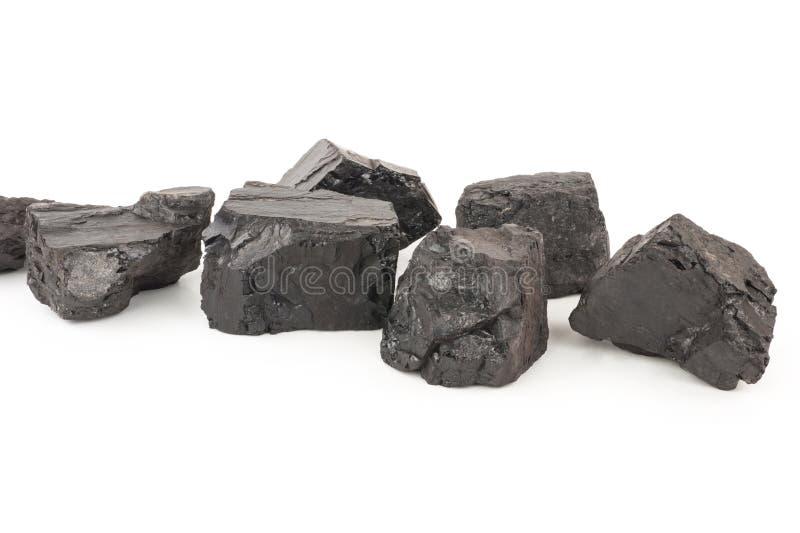 煤炭片断 免版税库存照片