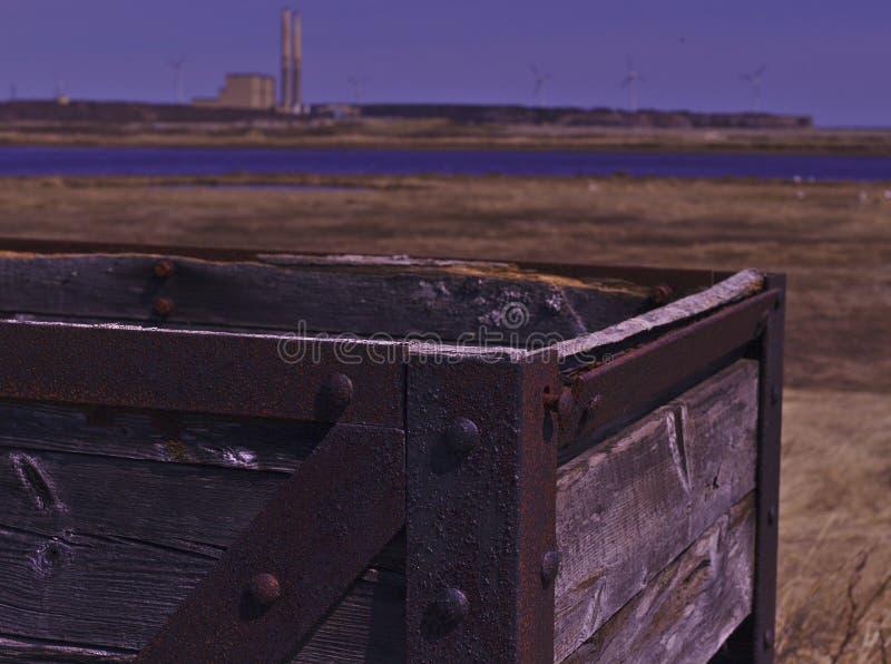 煤矿业的货车使用费箱子3483 库存图片