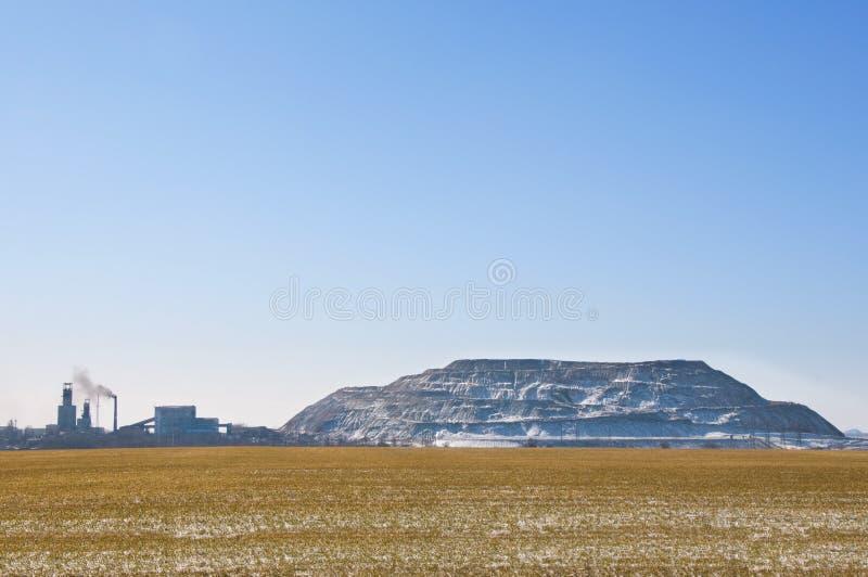 煤矿开采乌克兰 免版税库存照片