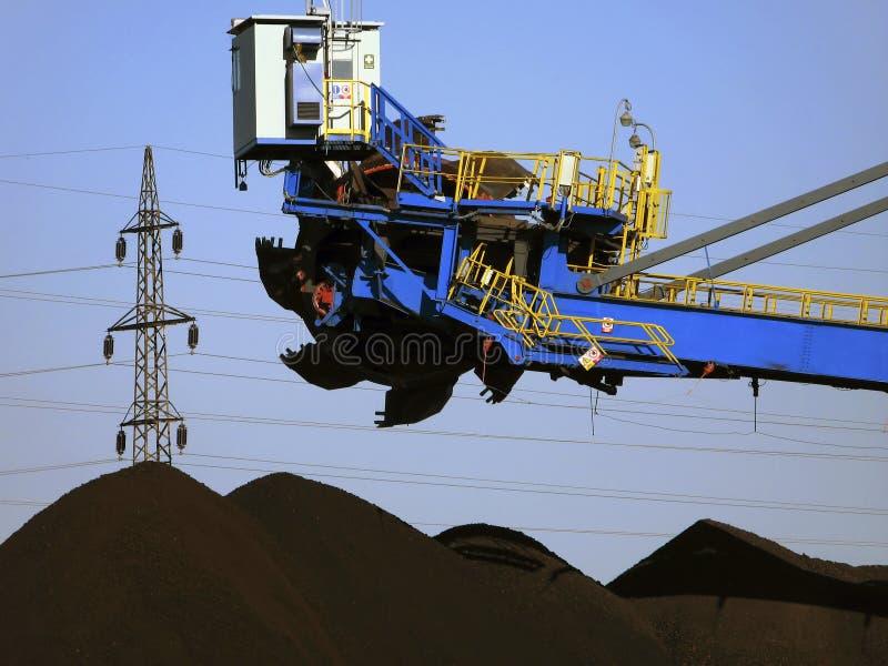 煤矿开采 免版税库存图片