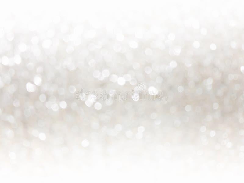 照明光和柔光被弄脏的bokeh抽象背景的 免版税库存照片