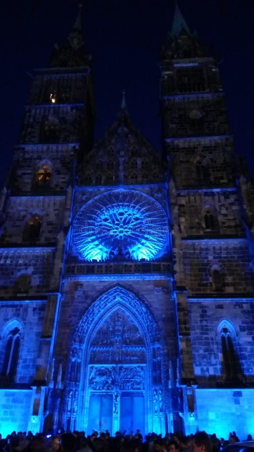 照明设备城堡 库存图片