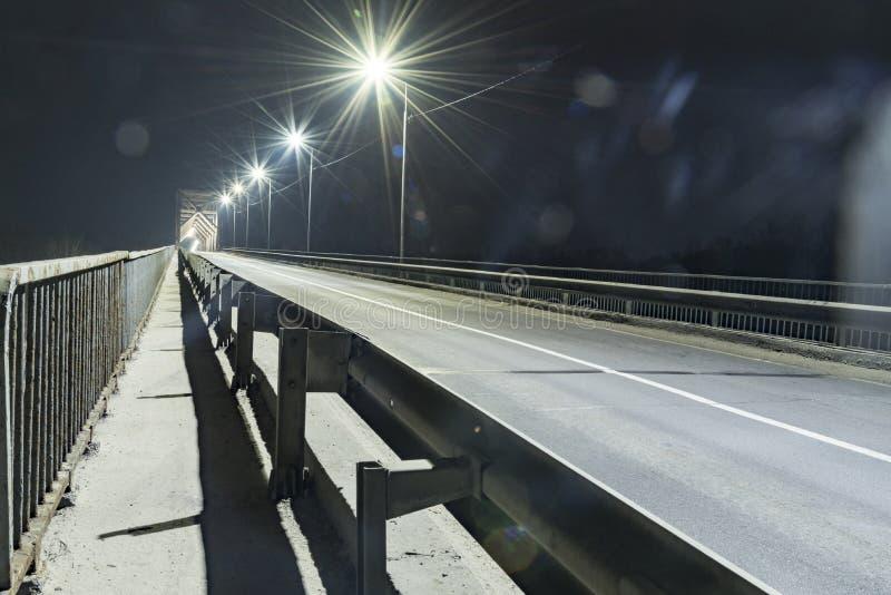 照明设备城市LED点燃2018年 免版税库存图片