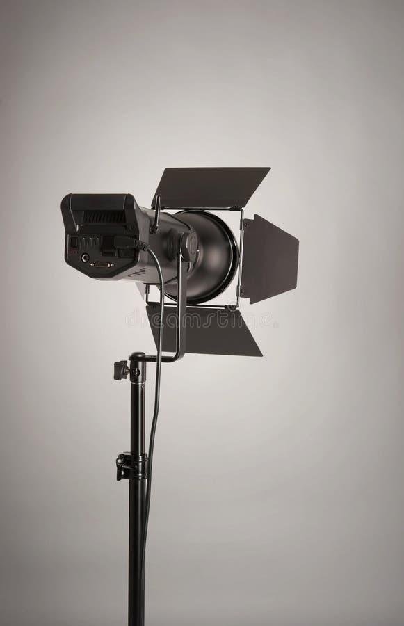 照明设备工作室 免版税库存照片