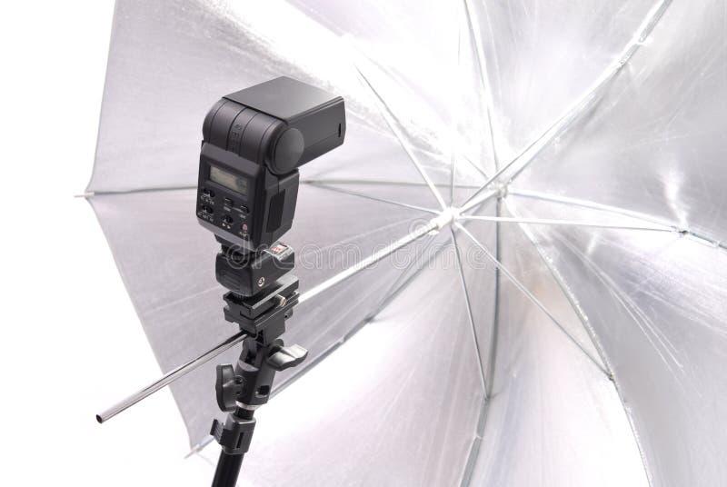 照明设备摄影专业人员 库存照片