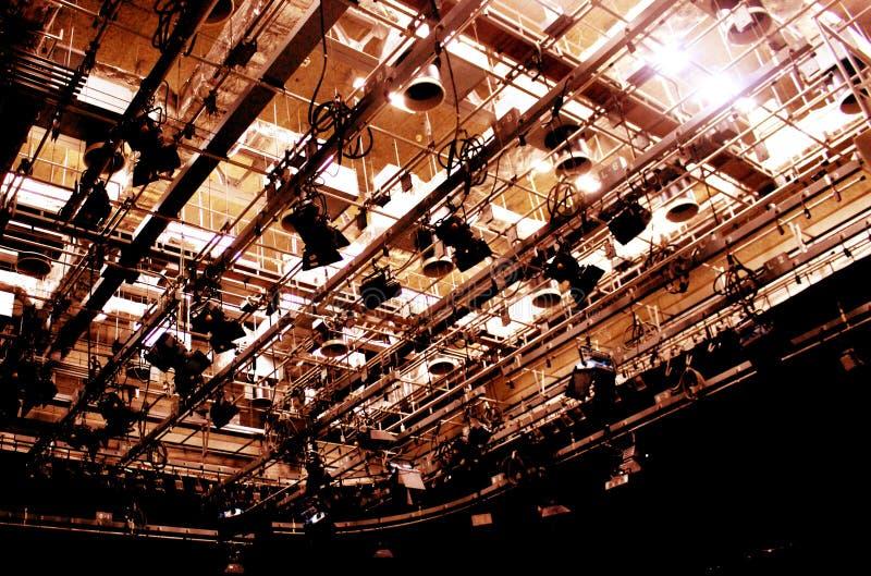 照明设备演播室 免版税图库摄影