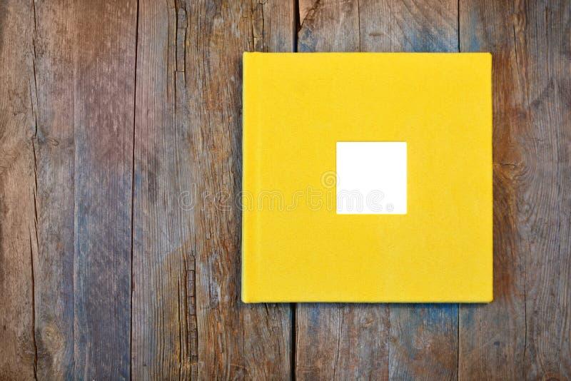 照片与空的框架的书套 库存照片