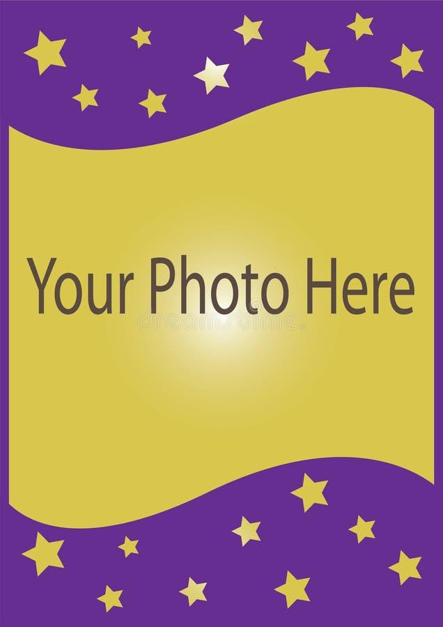 照片卡片 免版税库存图片