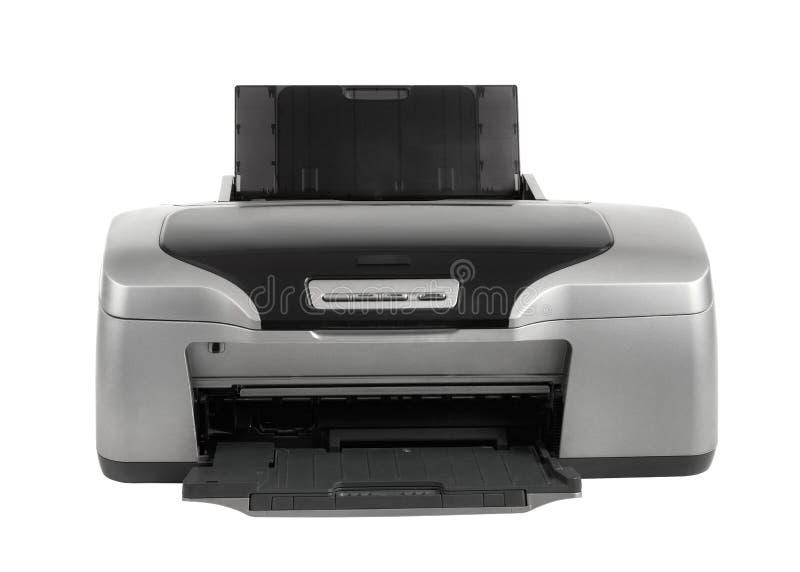 照片喷墨打印机,被隔绝 免版税库存图片