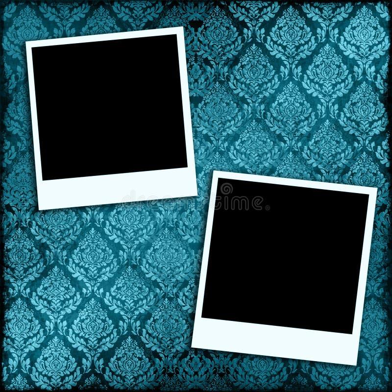 照片墙纸 库存例证