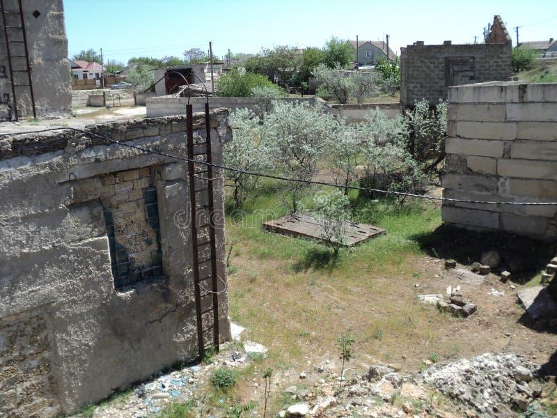 照片报告puteshest在katokomby的mamayskie 与了不起的历史的土牢 图库摄影
