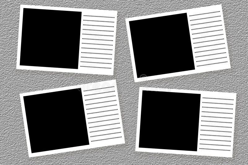 照片框架 向量例证