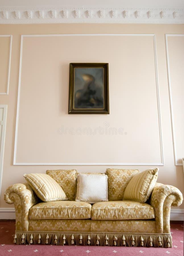 照片沙发 库存图片