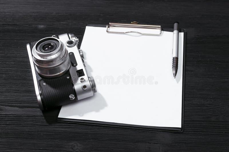 照片照相机 免版税图库摄影