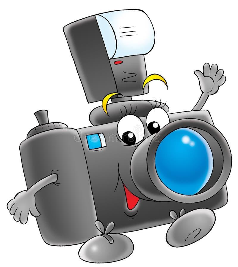 照片照相机 向量例证