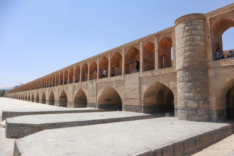 照片33桥梁在伊朗伊斯法罕 库存照片