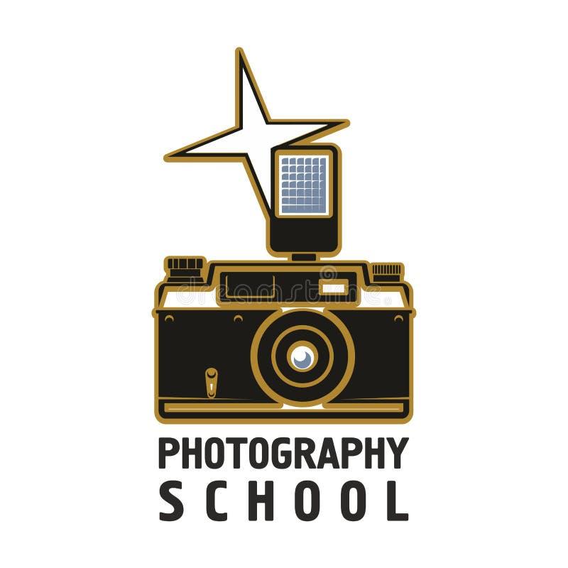 照相机一刹那摄影学校传染媒介象 向量例证