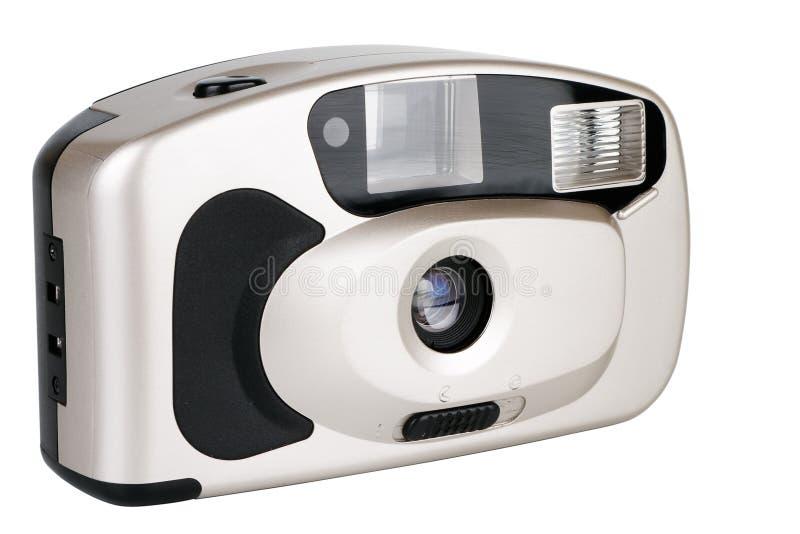 照相机一次性白色 免版税图库摄影