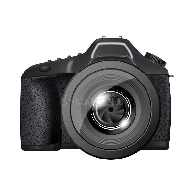 照相机专业人员 库存例证