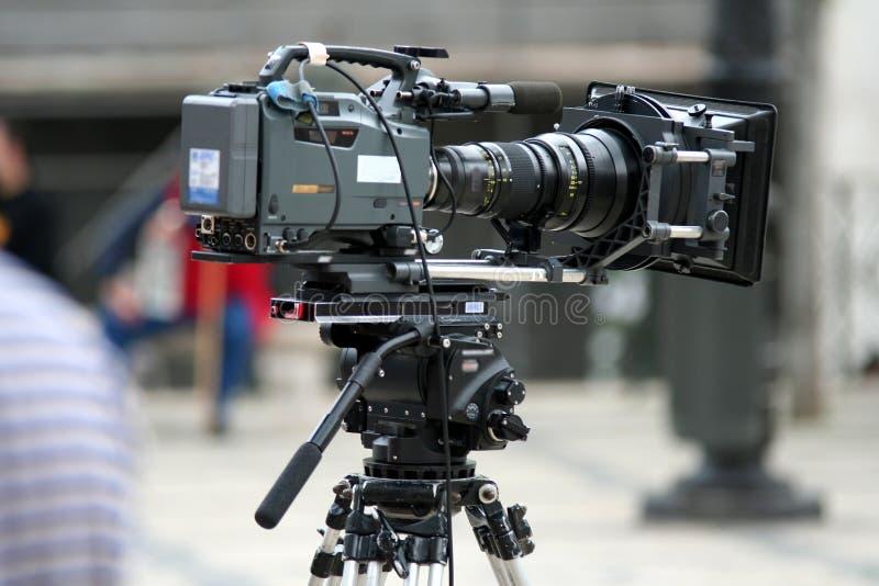 照相机专业人员 库存图片