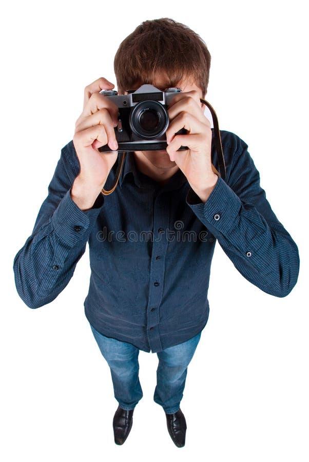 照相机人 库存照片
