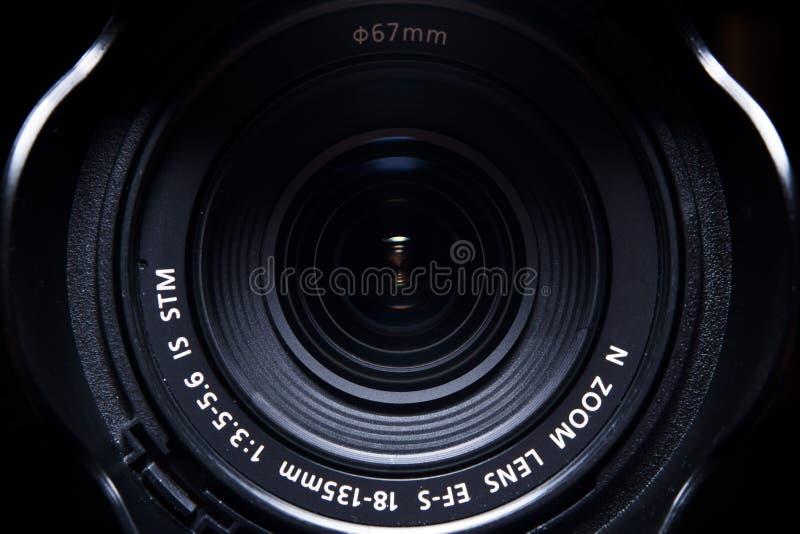 照相机作用eps10例证透镜彩虹向量 库存照片