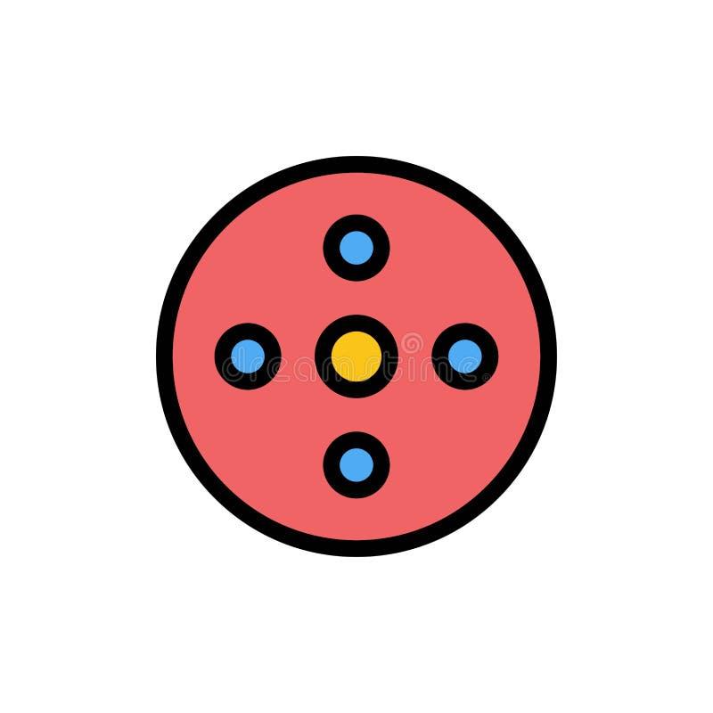 照相机卷轴,英尺长度,卷轴,存贮平的颜色象 传染媒介象横幅模板 库存例证