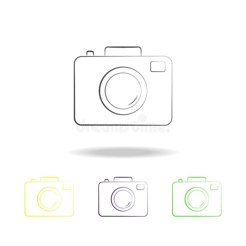 照相机多彩多姿的象 电子设备多彩多姿的象的元素 标志,标志汇集象可以为网,l使用 向量例证