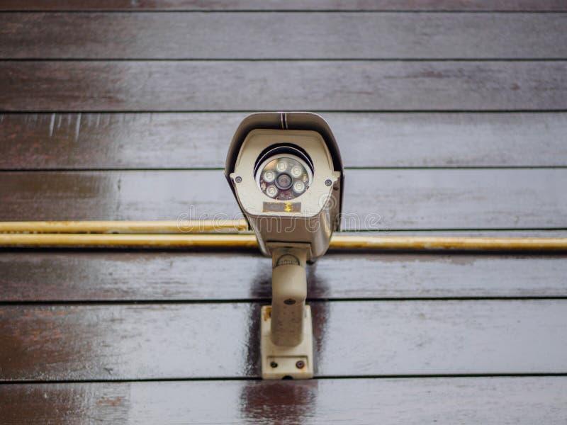 照相机室外证券 Safty概念 免版税库存图片