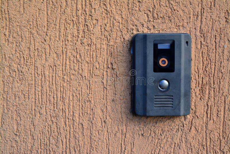 照相机对讲机 免版税库存照片