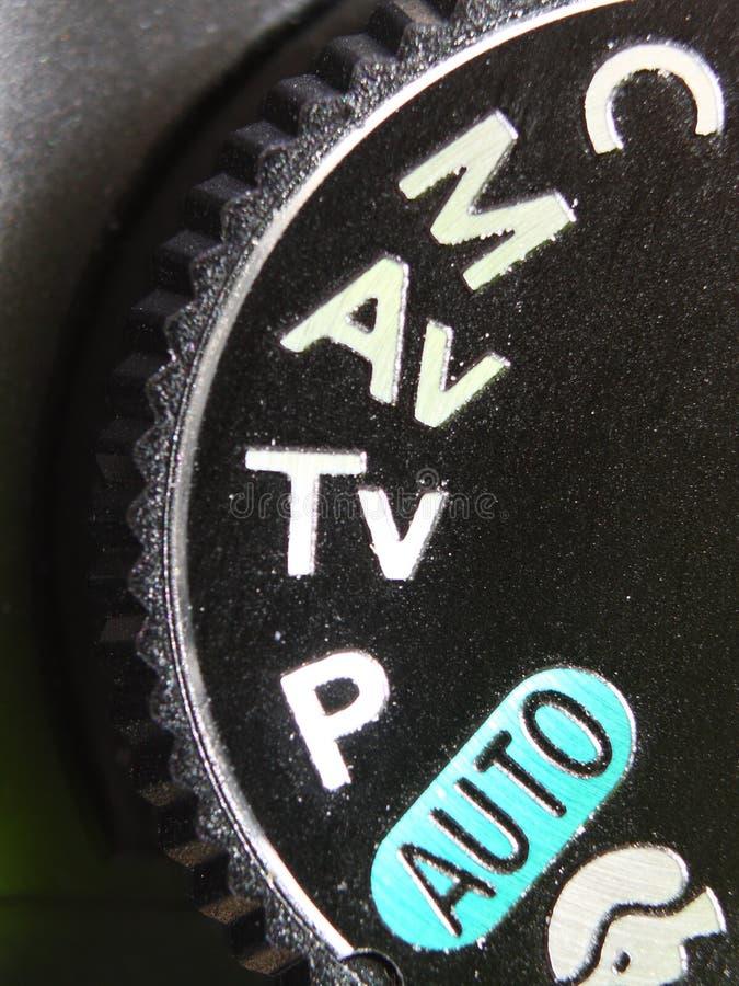 照相机拨号方式 免版税库存图片