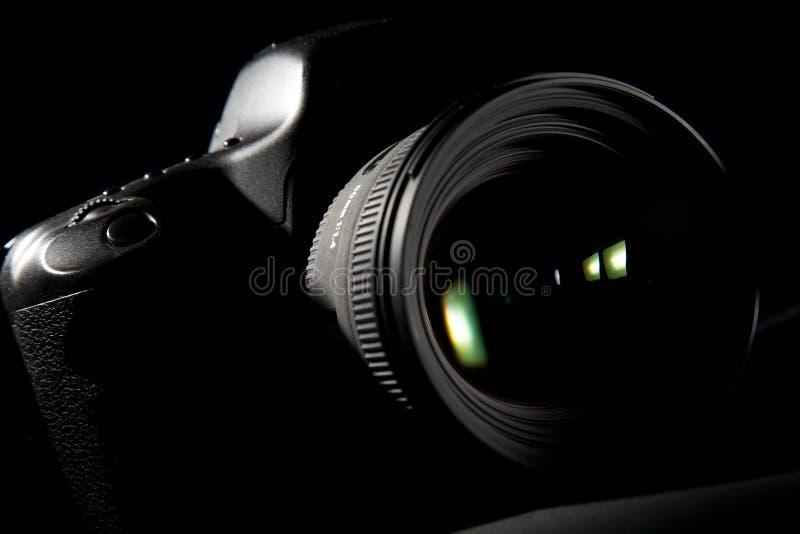 照相机数字式专业人员 免版税库存图片