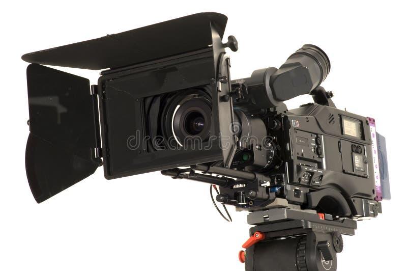 照相机数字式专业录影 免版税库存照片