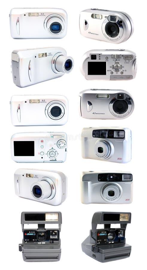 照相机数字式影片集 库存照片