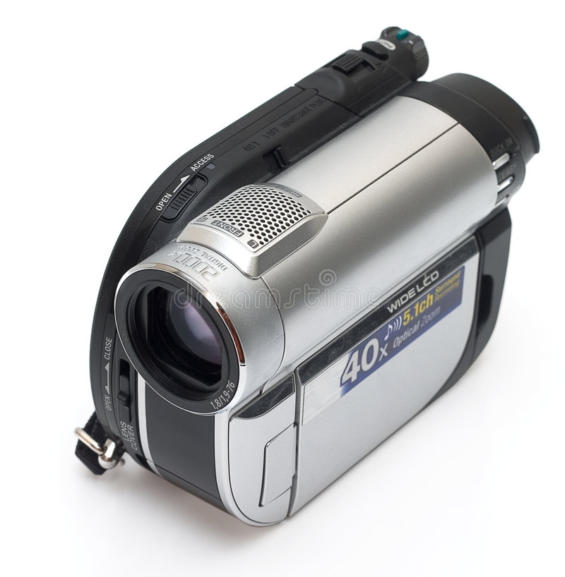 照相机数字式查出的现代 库存图片