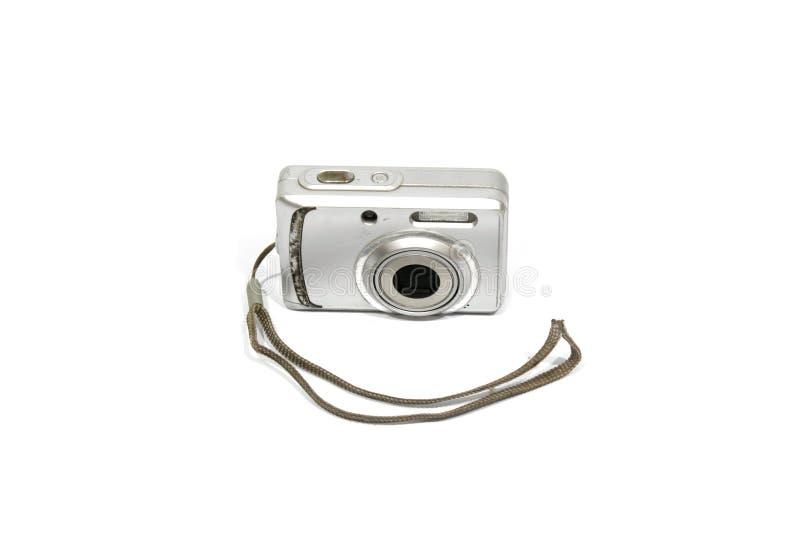 照相机数字式查出的老白色 免版税图库摄影