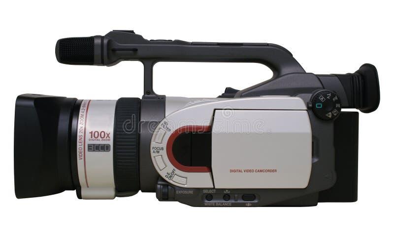 照相机数字式查出的prosumer录影 免版税库存照片
