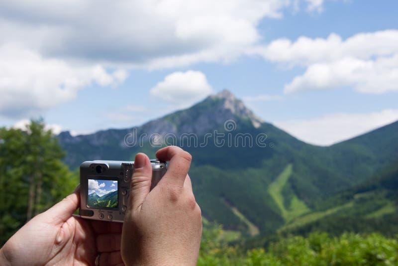 照相机数字式现有量 库存图片