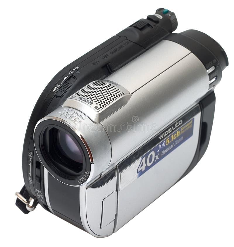 照相机查出的录影 库存照片