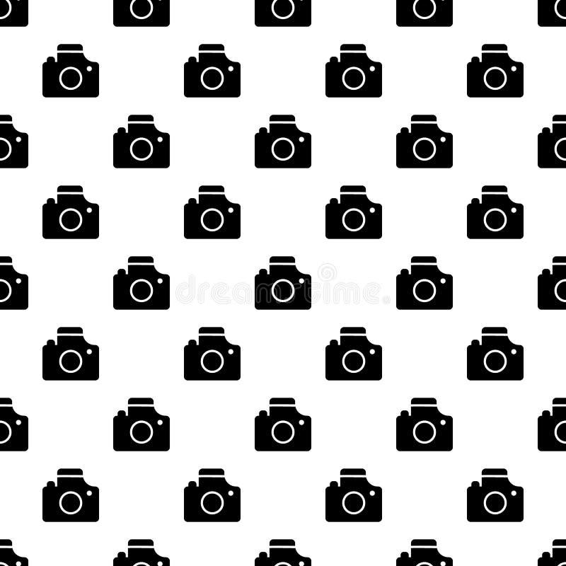 照相机样式无缝的传染媒介 向量例证