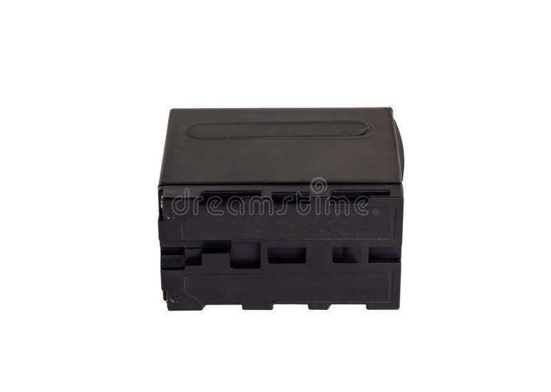 照相机用适配器电池 电池电源盒 免版税库存照片