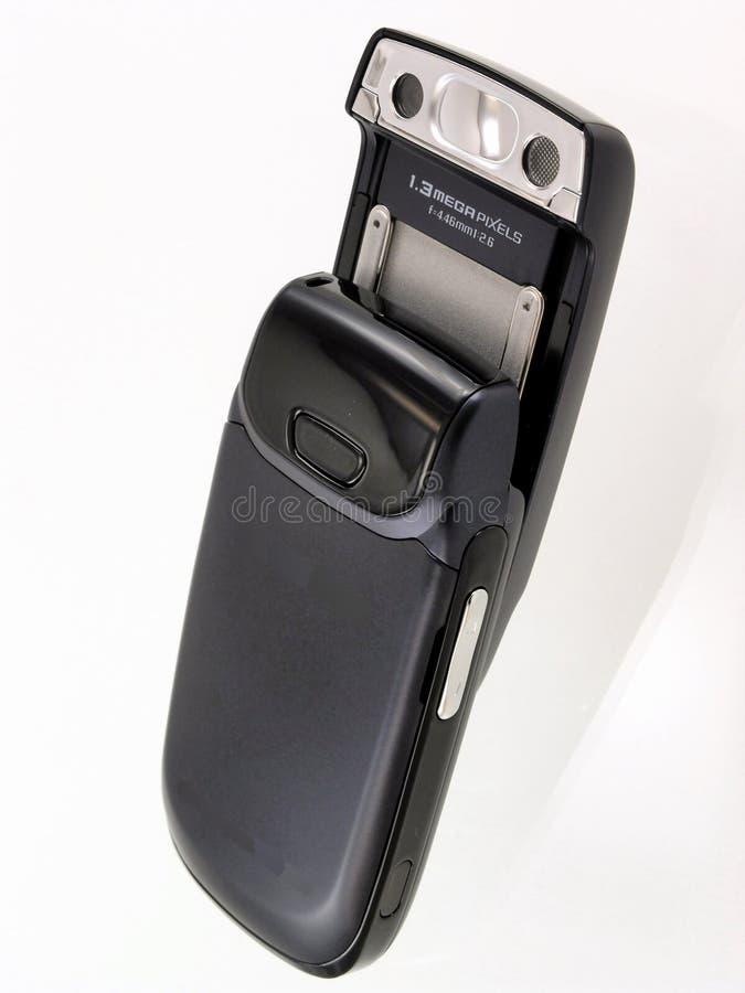 照相机移动电话 免版税库存图片