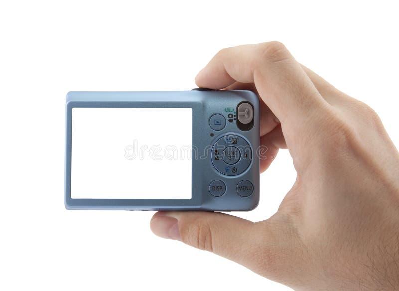 照相机紧凑数字式现有量藏品 免版税库存图片
