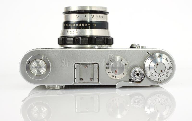 照相机老照片反光镜