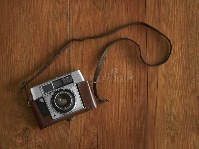 照相机老皮带 图库摄影